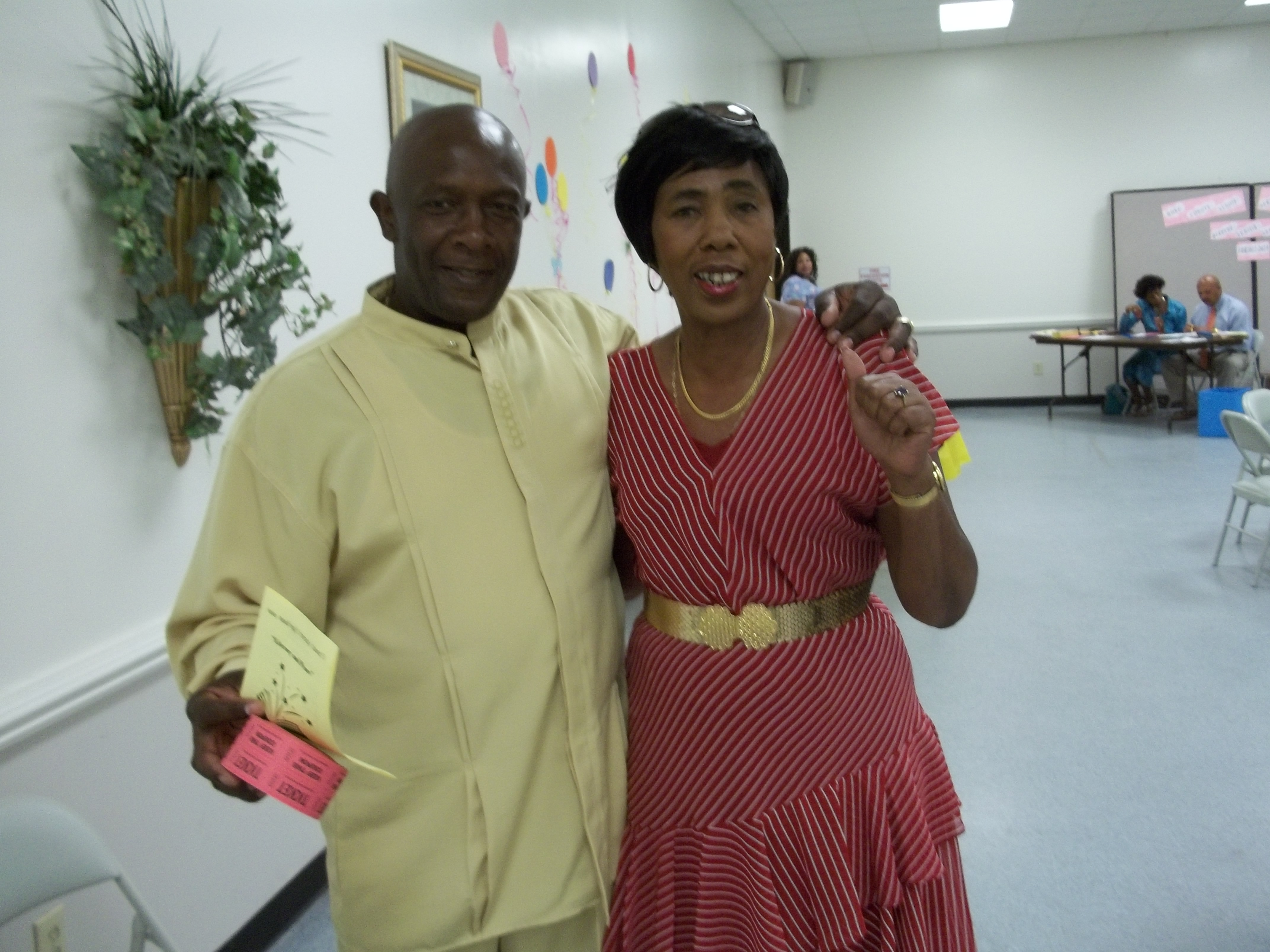 Rodney Fairley and Barbara Buie